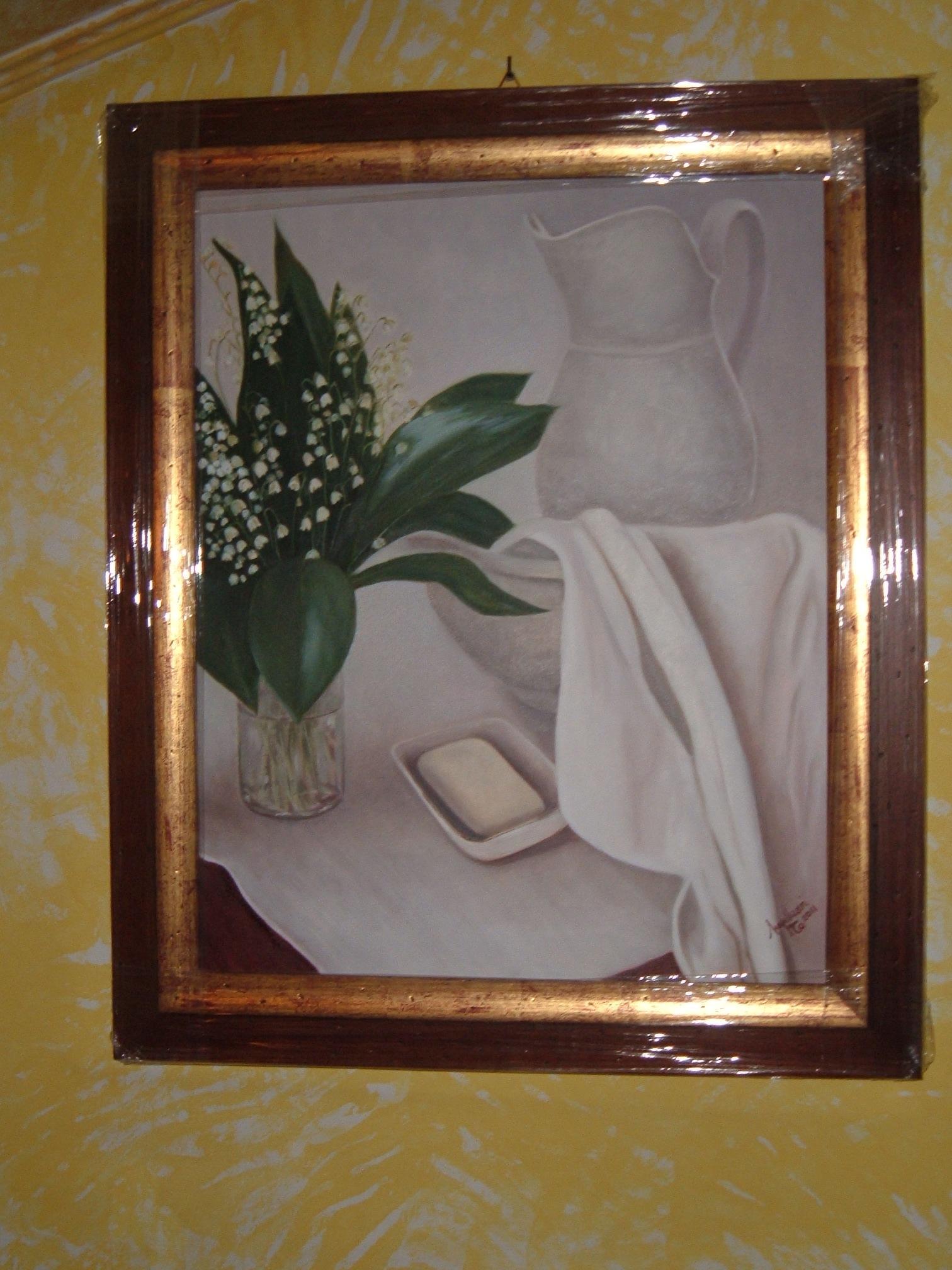 dipinto di Tiziana Impellizzeri, esposto a Bianzè