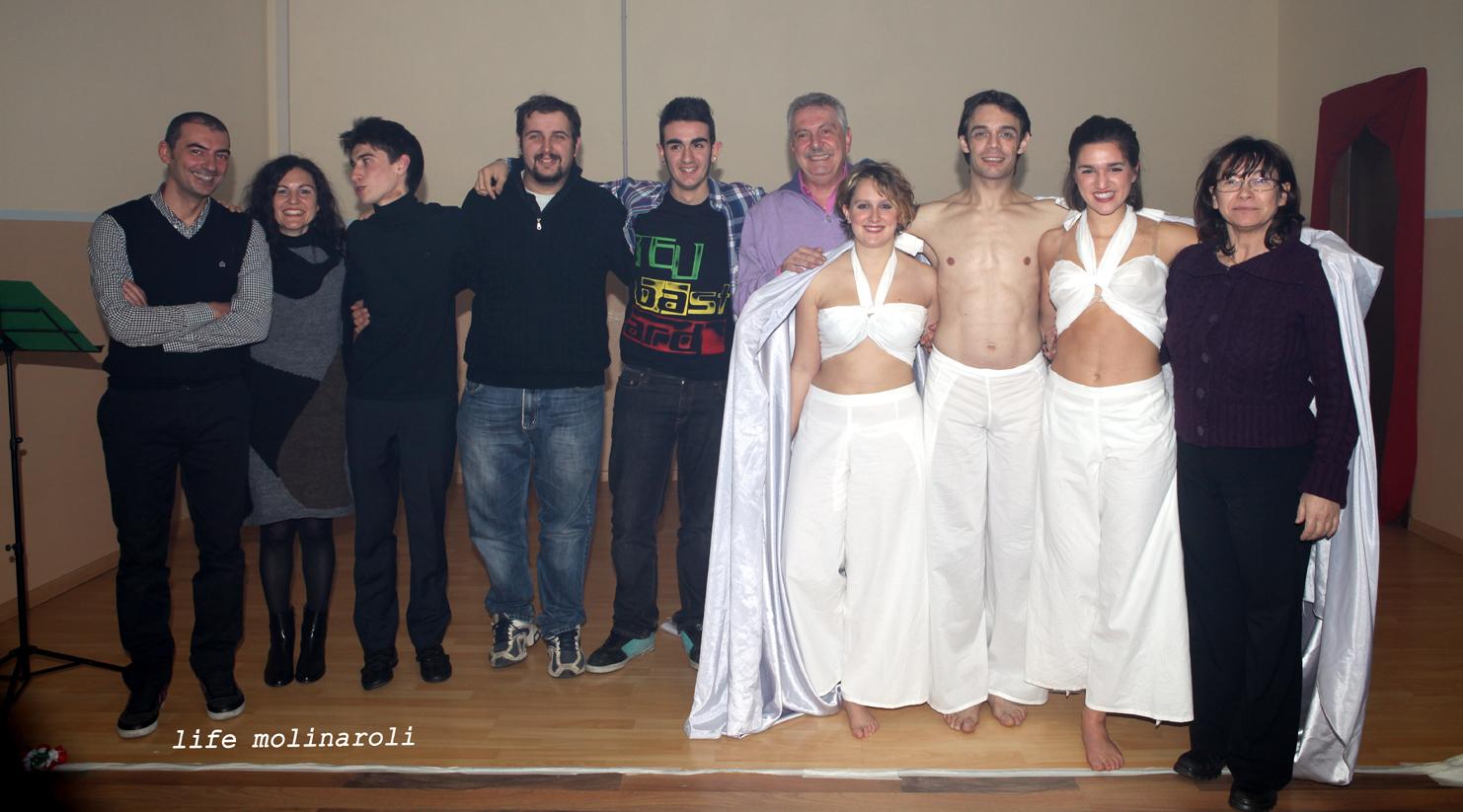 foto di gruppo al finale
