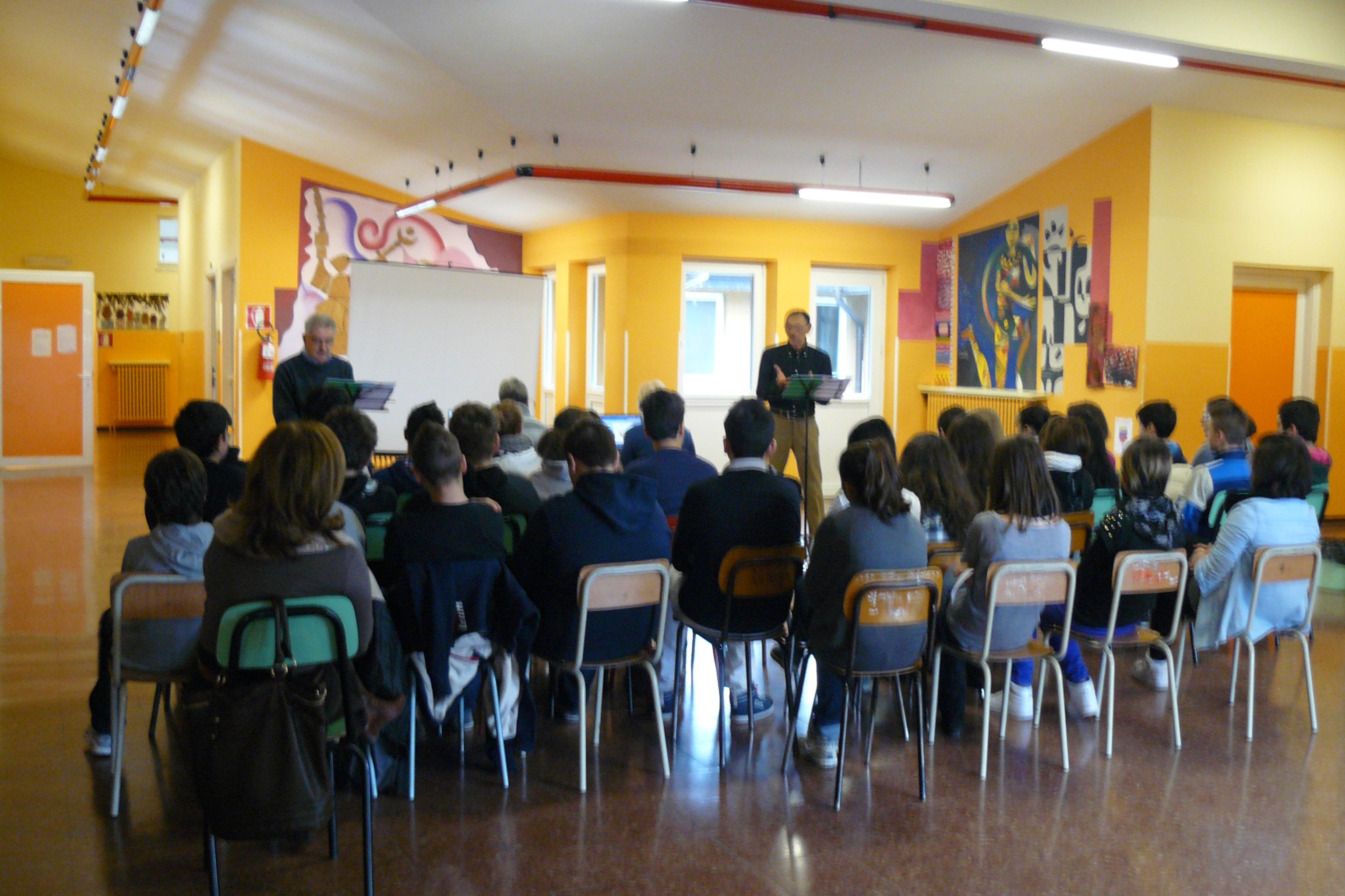 Scuola Media Borgo d'Ale 25.2.2013
