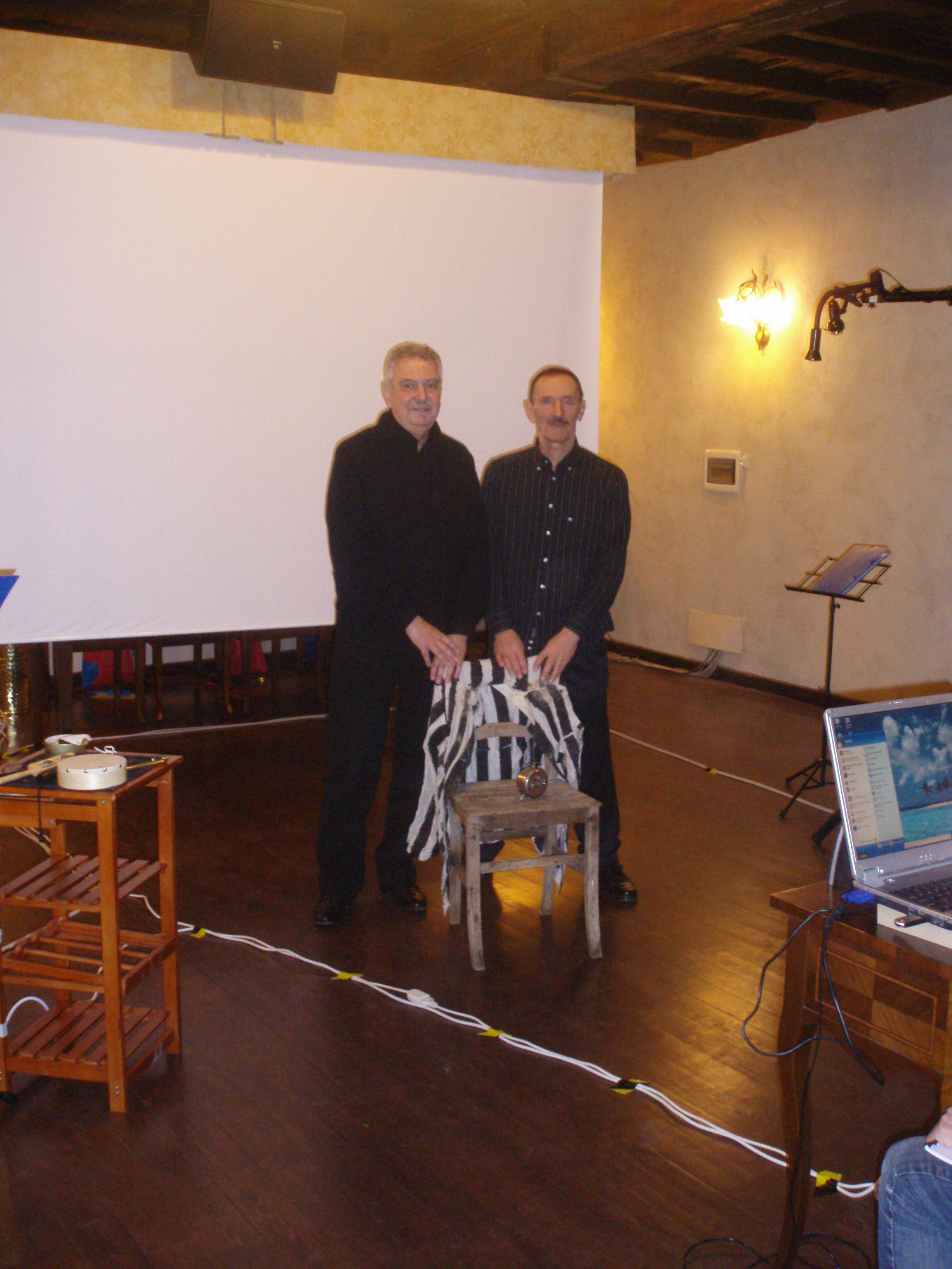 Renzo Bellardone e Umberto Bolzon
