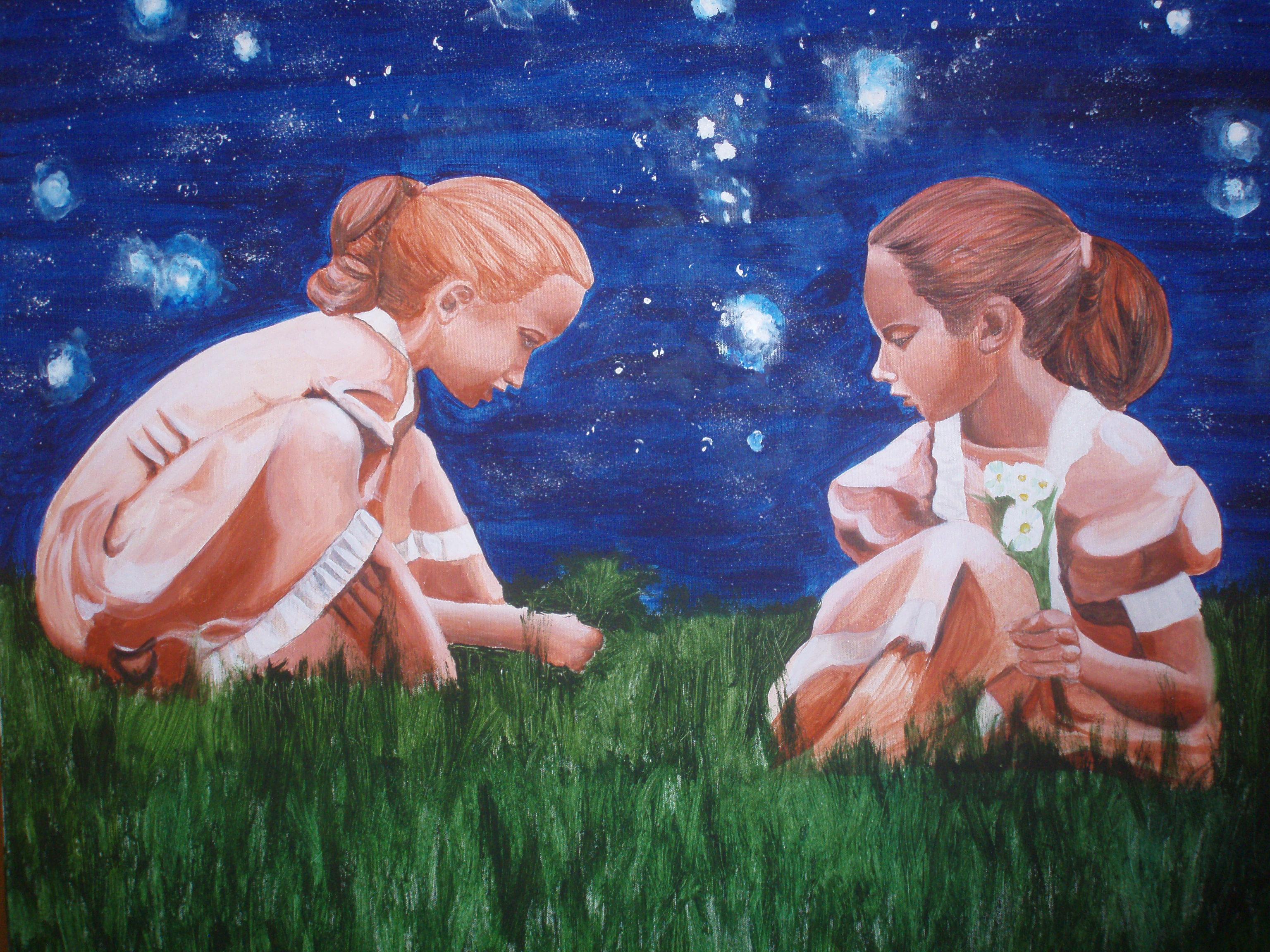 Dipinto di Milena Chiodi a 'Voce agli Artisti' 30.10.2011-Alice Castello