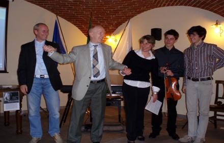 G:martelozzo, Attilio Piovano, N, Kotsioubinskaia, E.Sacchetti, L:Citraro in SAPEVA DI ERICA, DI TORBA E DI SALMASTRO, 15 Aprile 2010