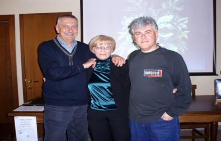 Renzo Bellardone, Maria Lacchio, Claudio Furlan; Donne e Draghi: 16 aprile 2010