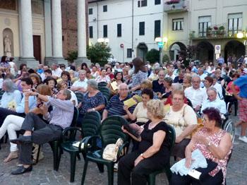 Piazza Roma SANTHIA' alla serata conclusiva 27.6.2010
