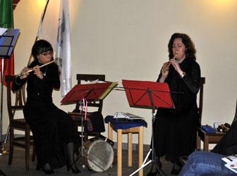 Titta Sanità e Laura Serra del Tafel Musik Ensemble