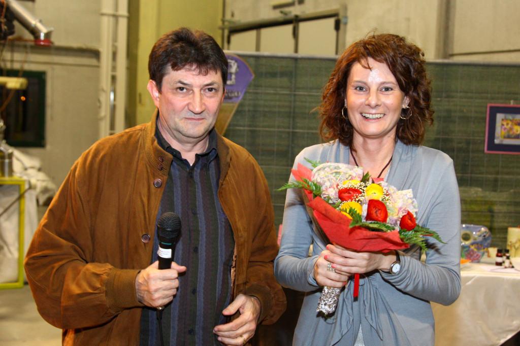 Ennio Cobelli e Giovanna Racca