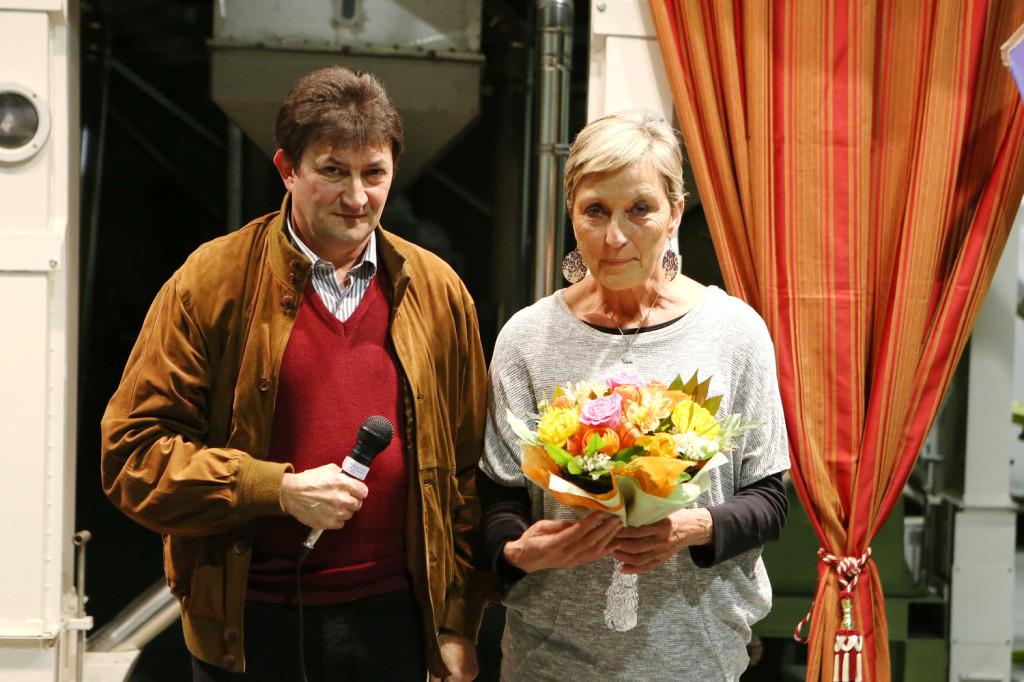 Ennio Cobelli ed Yvette Geissbhler