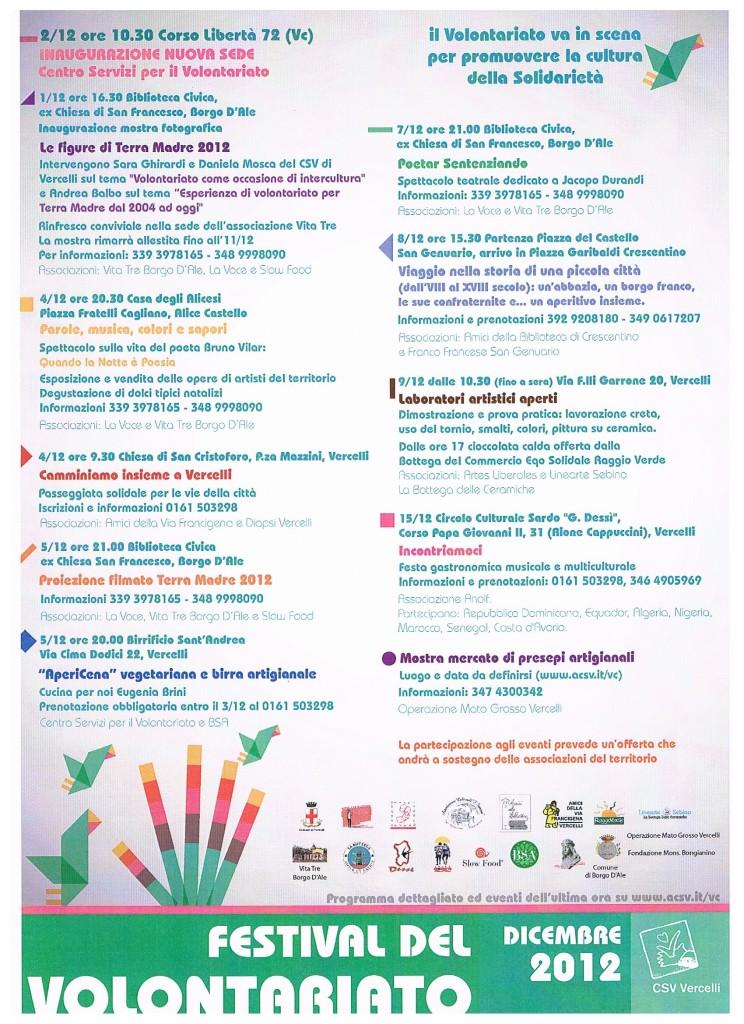 festa del volontariato 2012 -csv
