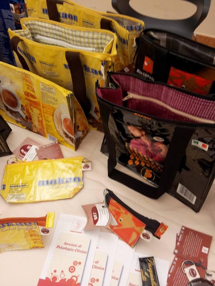 desk accoglienza Coffee Bag Lab - Diapsi Vercelli