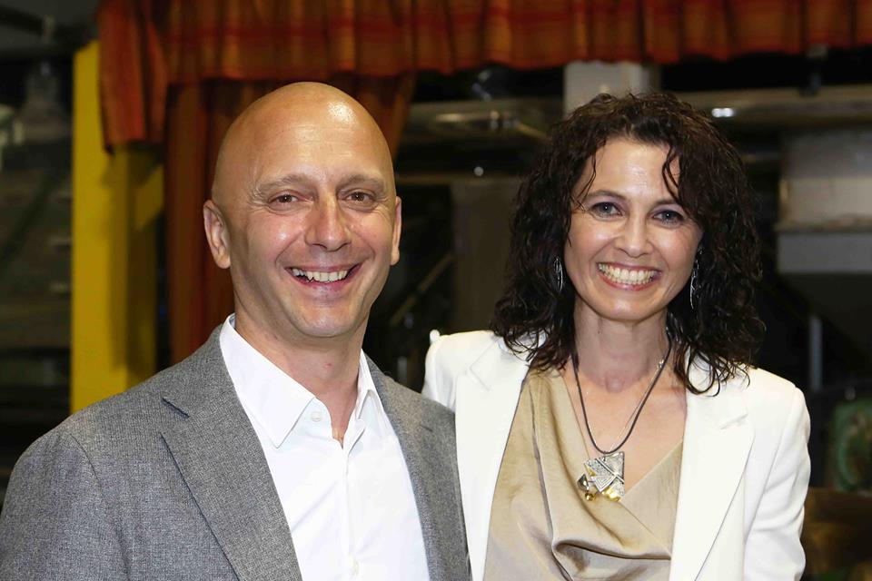 Gabriella ed Enrico Molinaro - gli eccellenti ospiti