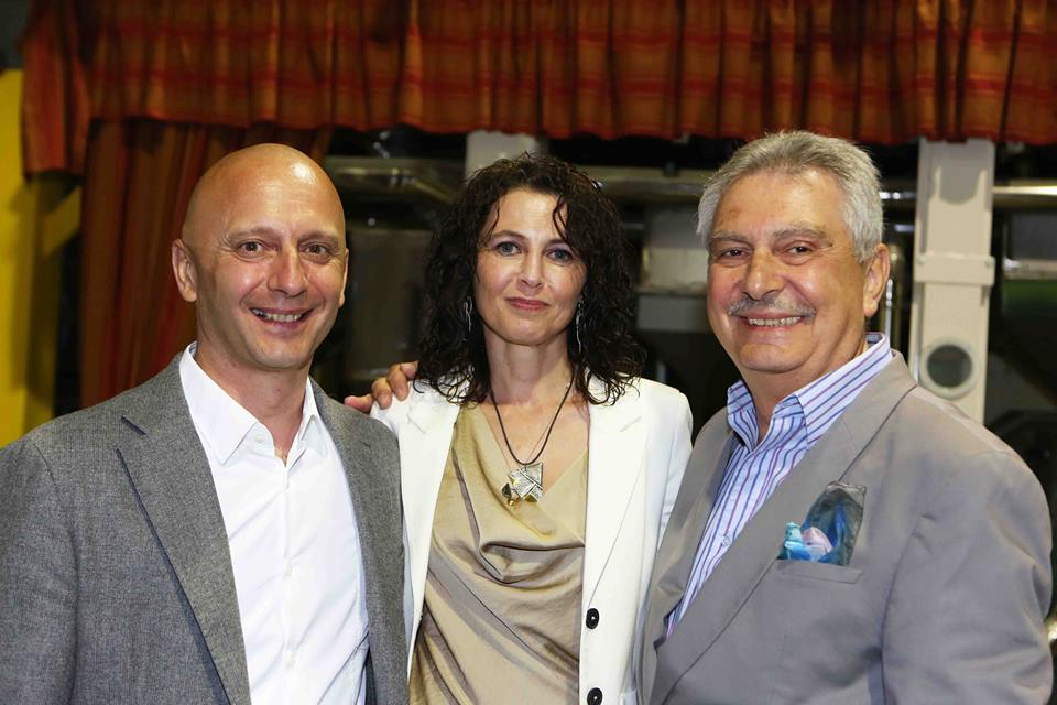 Gabriella ed Enrico Molinaro e Renzo Bellardone
