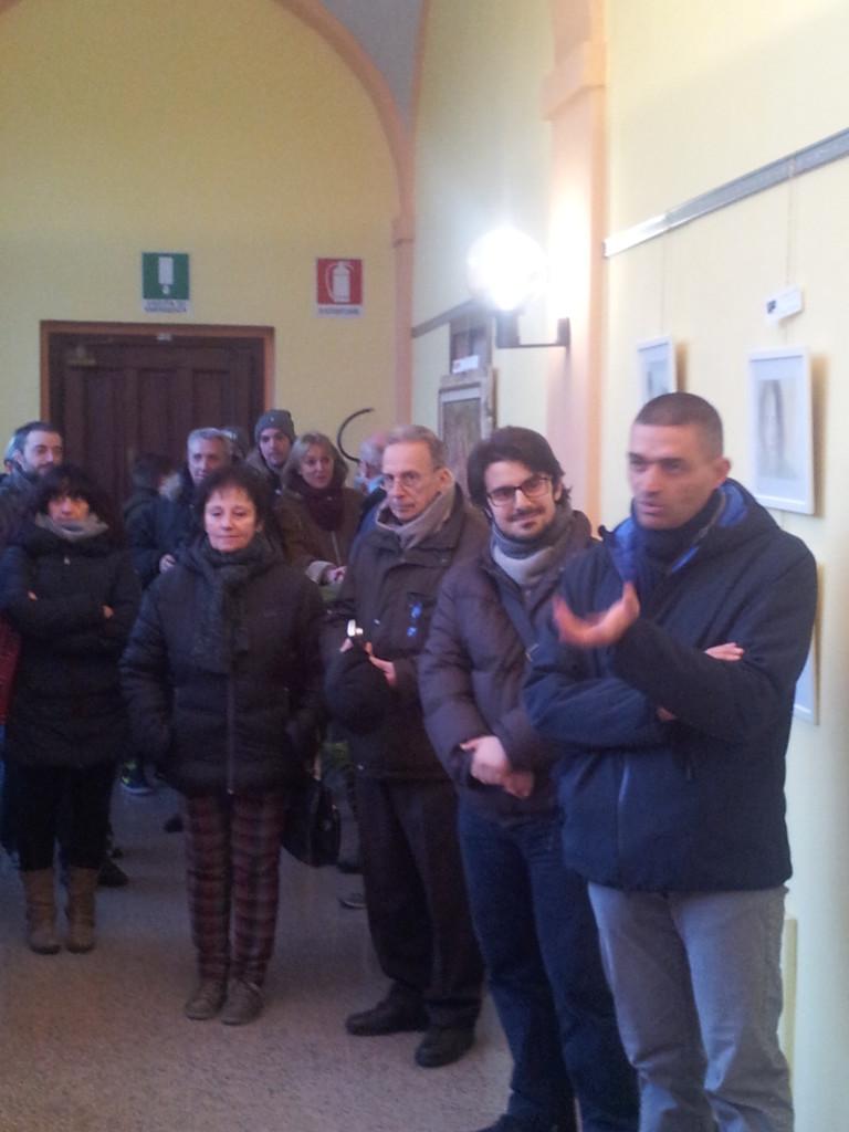 ARTE è DONNA- L'inaugurazione con sindaco Angelo Cappuccio e presidente della Voce -Renato Gialluca